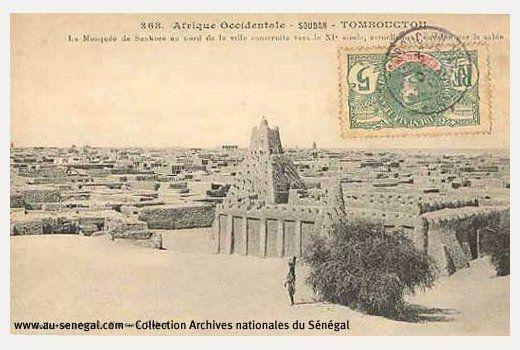 Anciennes photographies du Sénégal et de l'Afrique de l'ouest