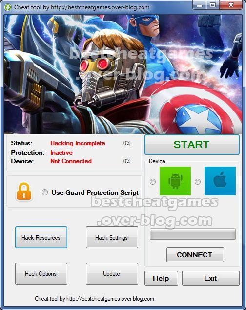 Marvel United Hack