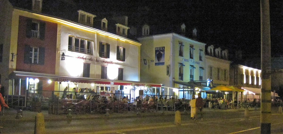 Le Palais by night