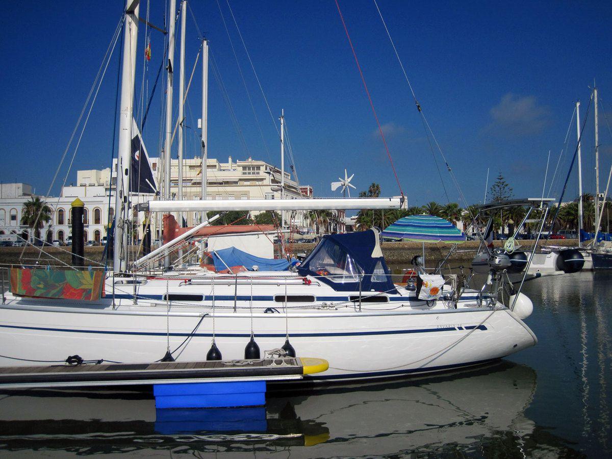 Le port d'Ayamonté
