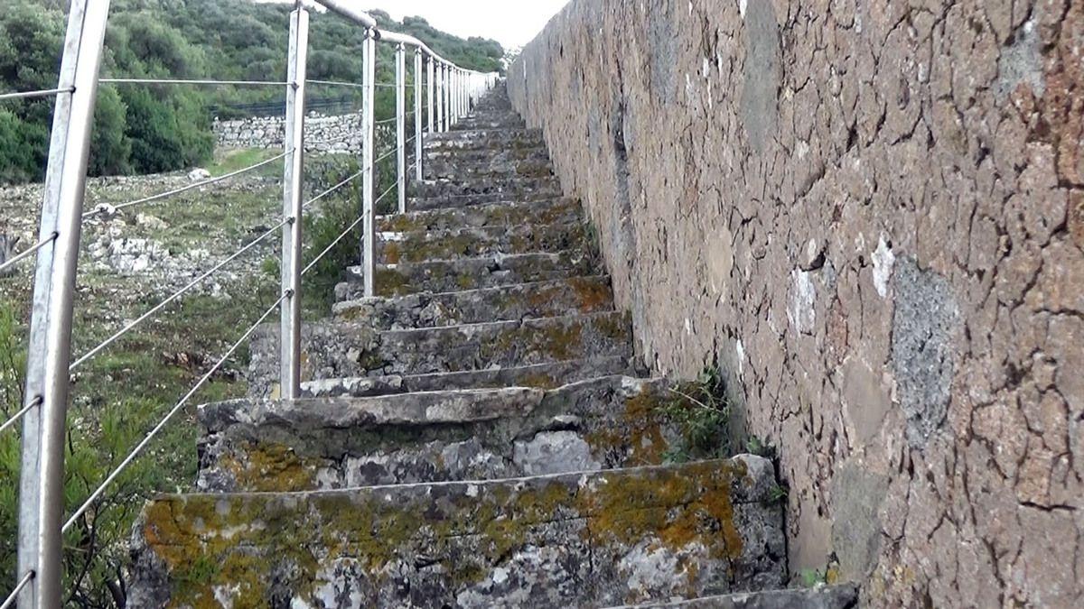 Les escaliers
