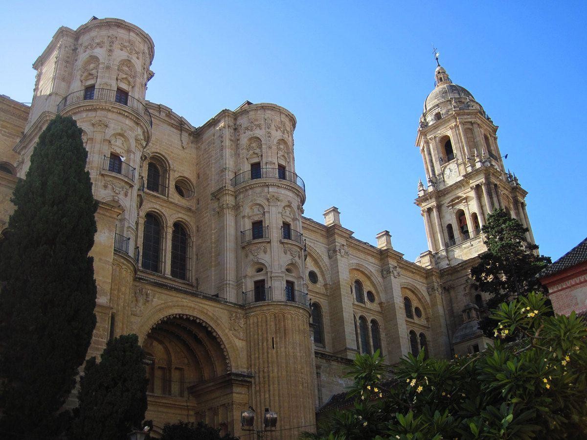 Malaga la cathédrale