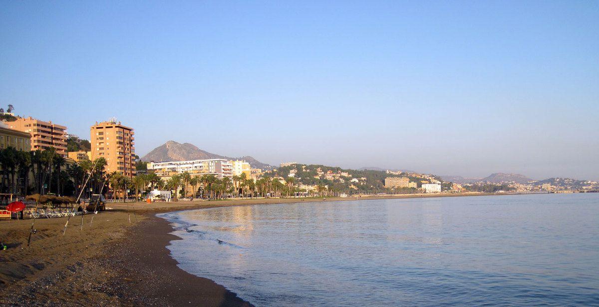 Malaga la plage