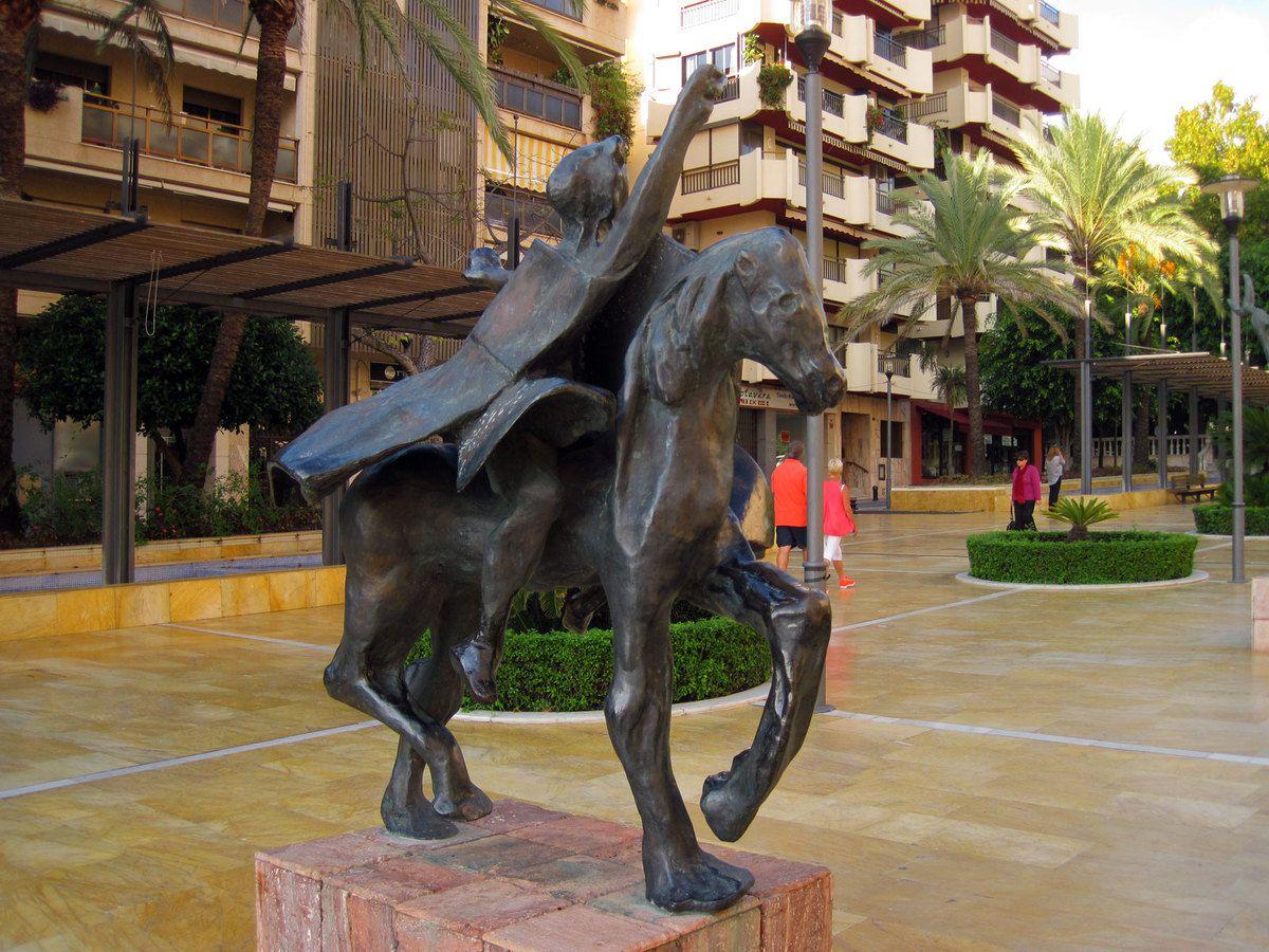 Statue de Dali