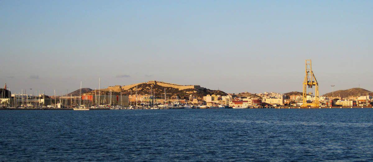 Arrivée à Carthagène