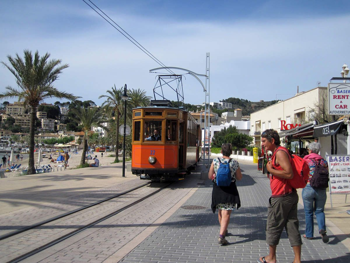 Soller le tramway