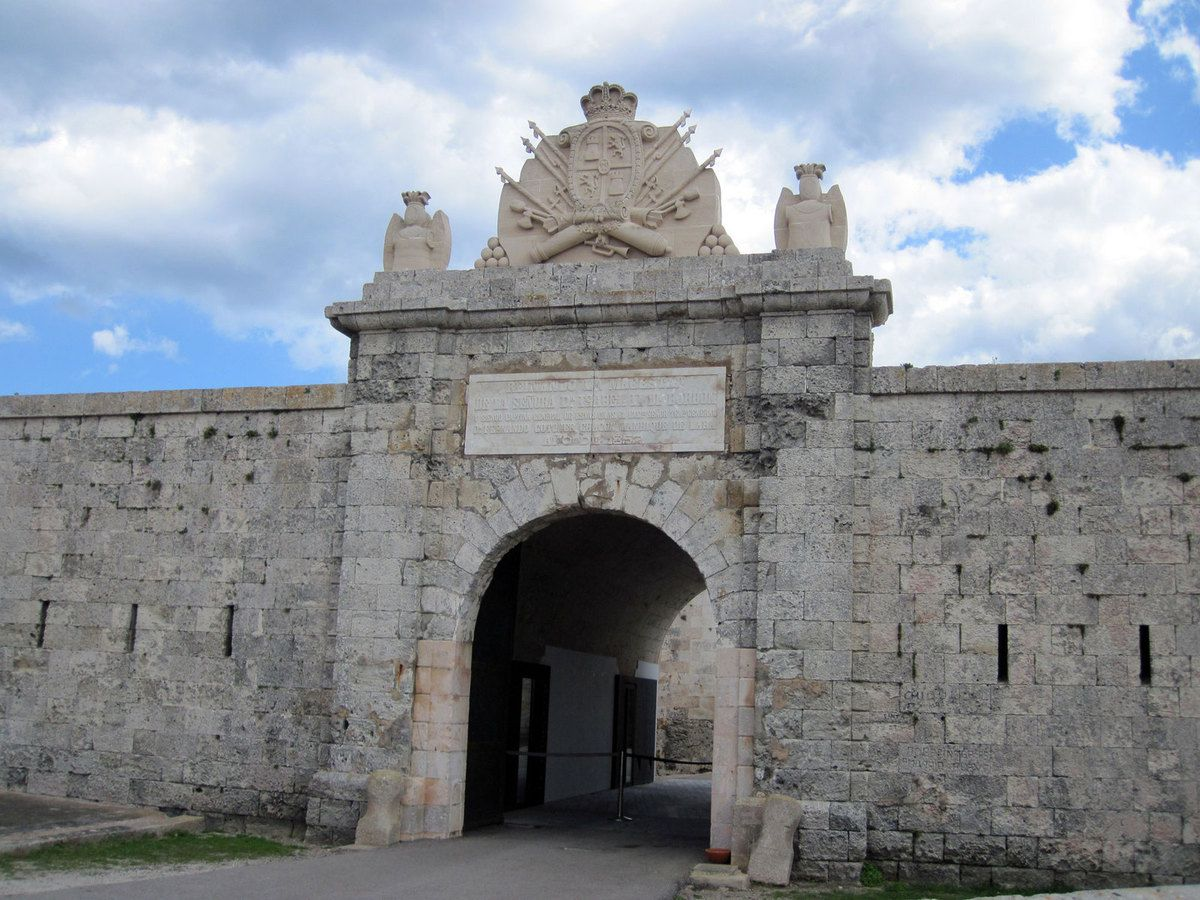 Le fort Isabella à Mahon