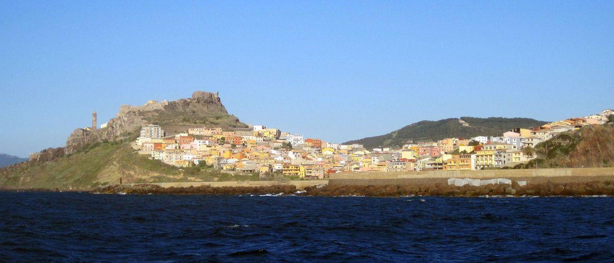 arrivée au port de Castelsardo