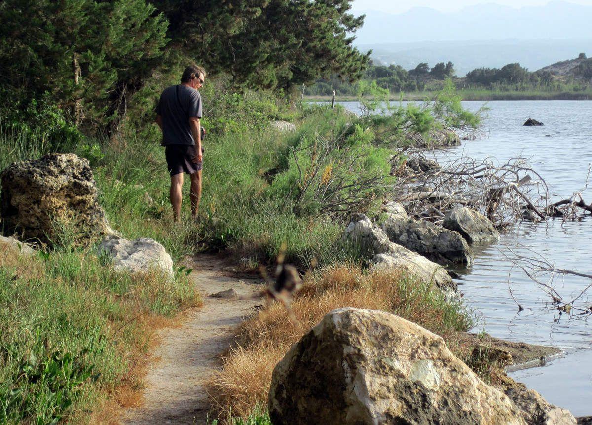 La lagune de Pylos