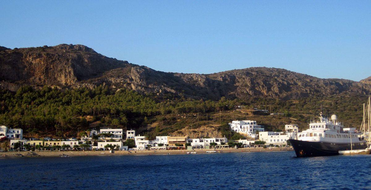 Départ de Kithera direction sud-est vers la Crète ....
