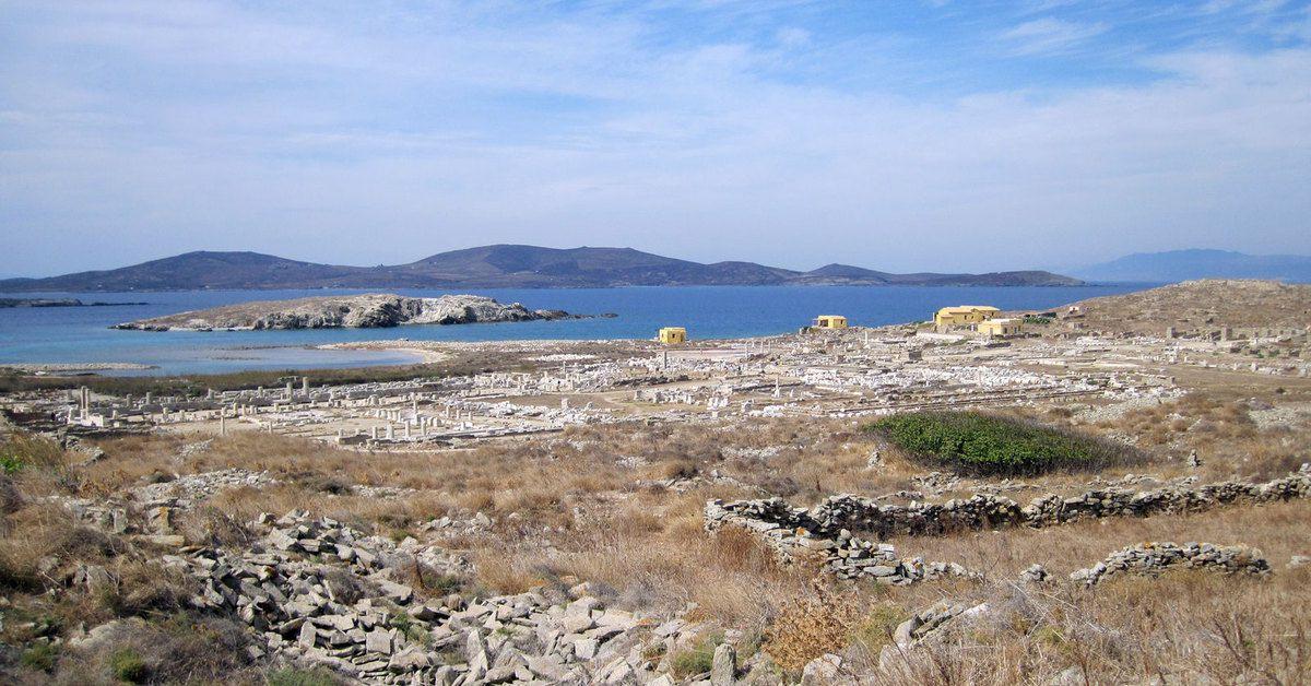 Le site archéologique de Delos