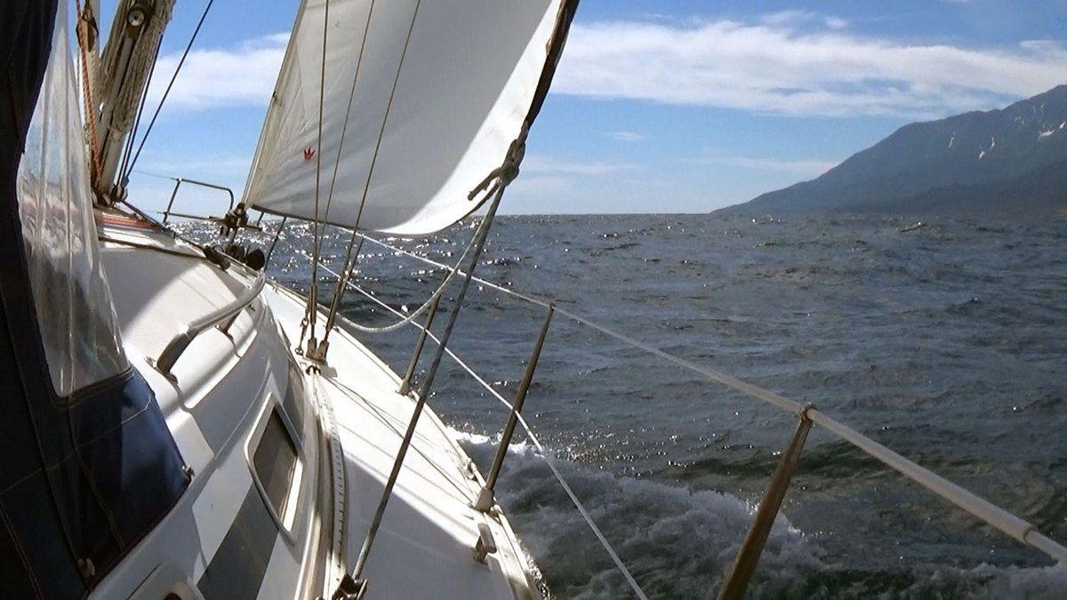 En route pour le fond du golfe de Singitikos