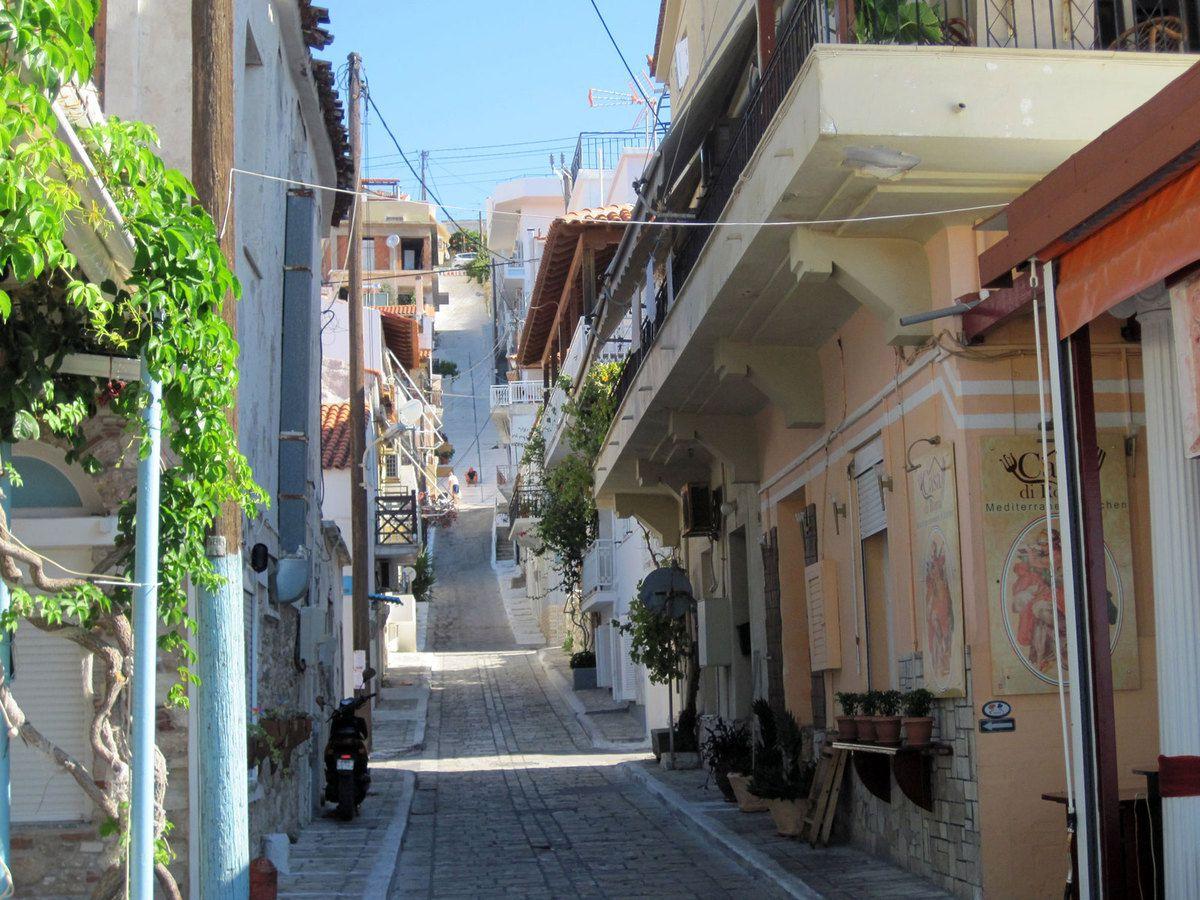 Les rues de Pythagorion
