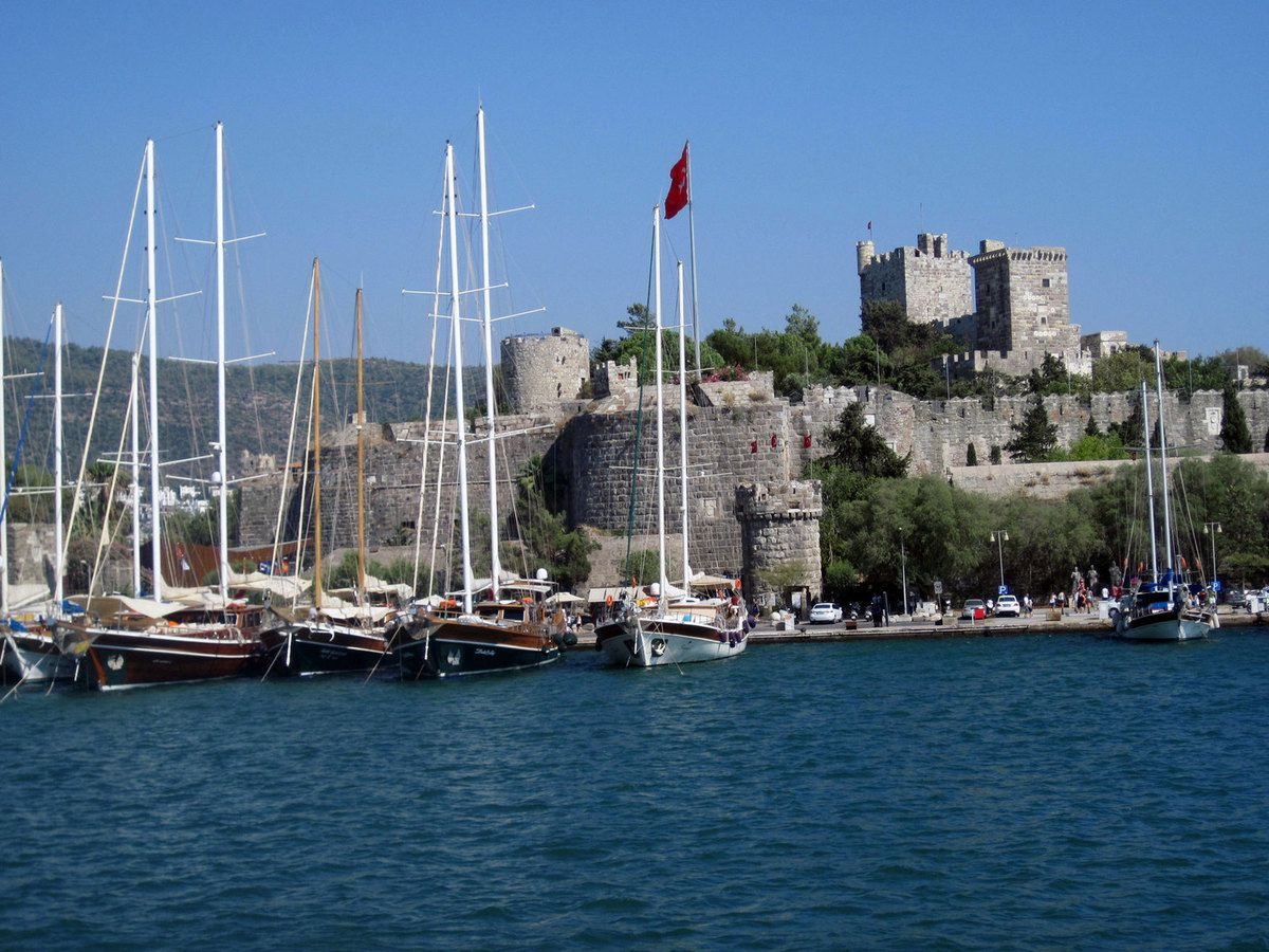 Bodrum le fort.