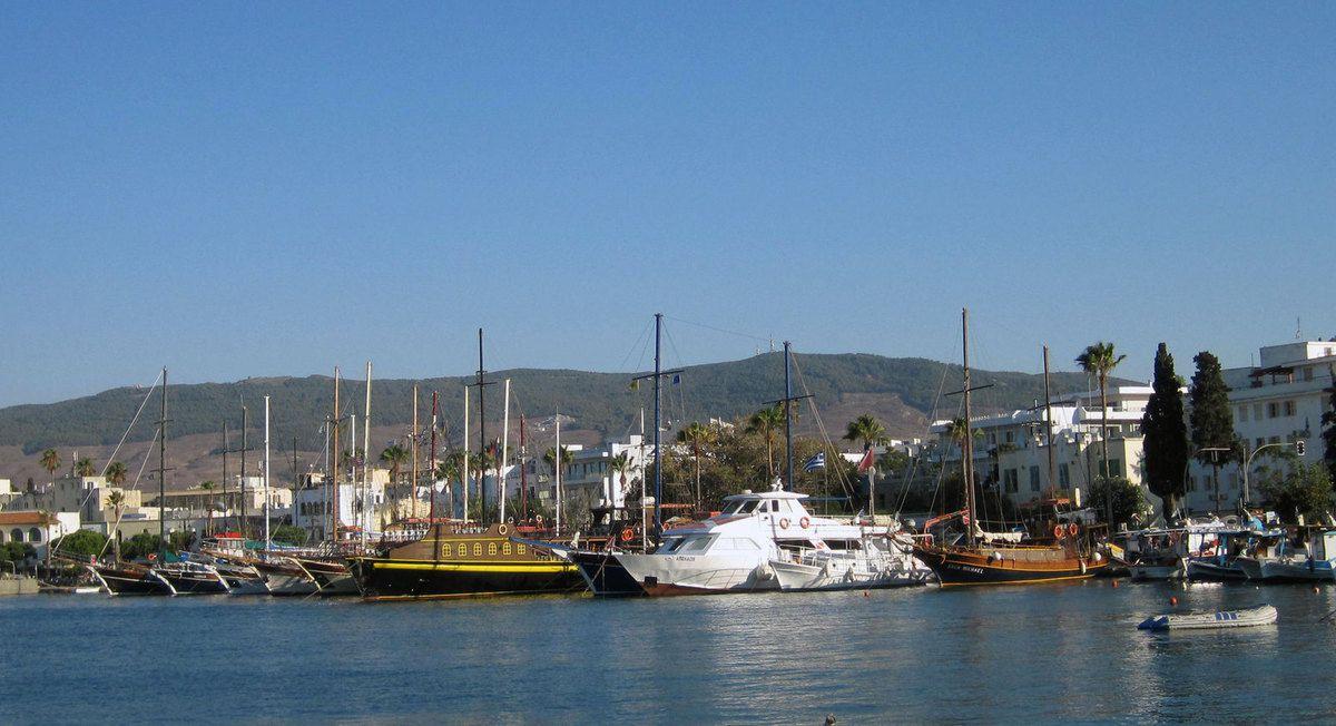 Le vieux port de Kos