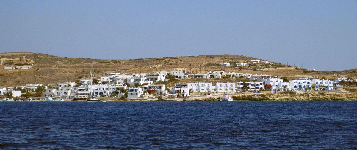 Passage entre les 2 îles. (Koufonisos)
