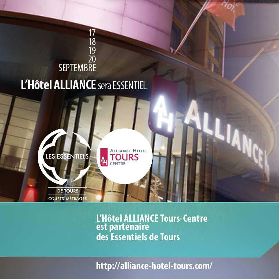 """L'Hotal AllianceTours centre était partenaire officiel des Essentiels de Tours pour le 1er court métrange """" Daymane Tours"""" de Pepiang Toufdy"""
