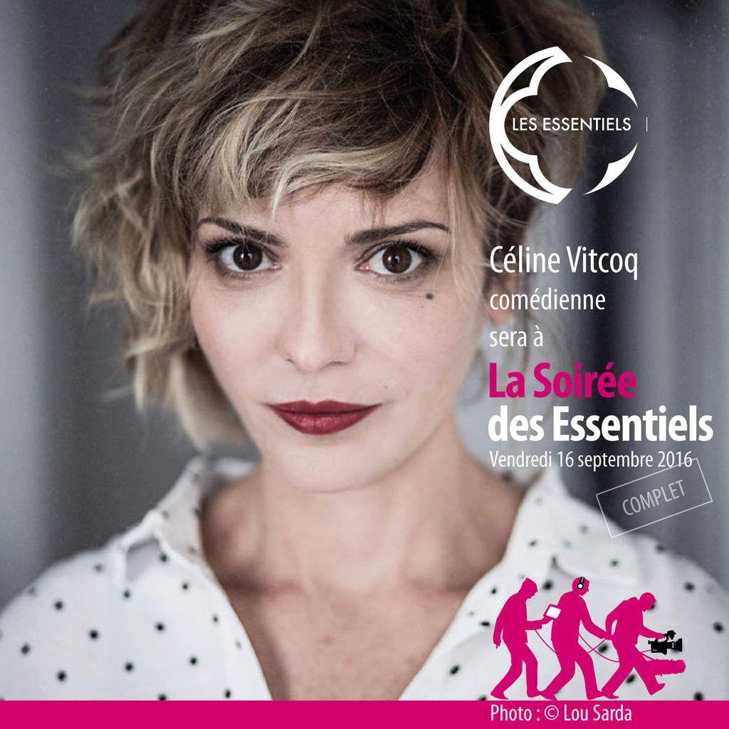 Céline Vitcoq, comédienne  / Crédit photo : © Lou Sarda