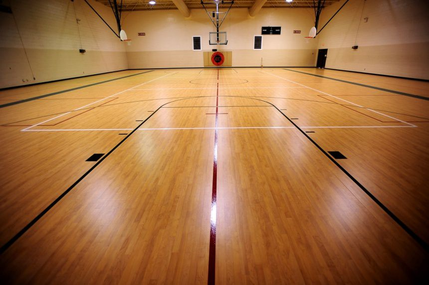 How to choose appropriate sports flooring my cozy home for Basketball gym floor plan