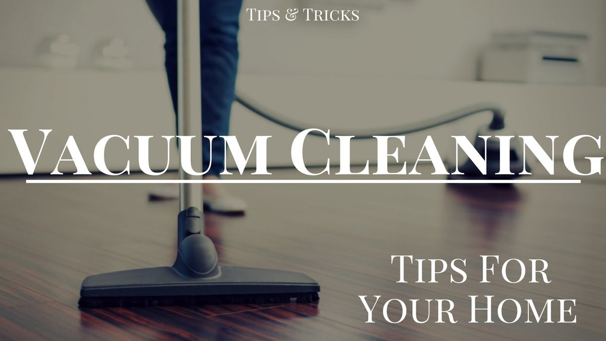Areas at Home You Should Vacuum (Besides the Floor!)
