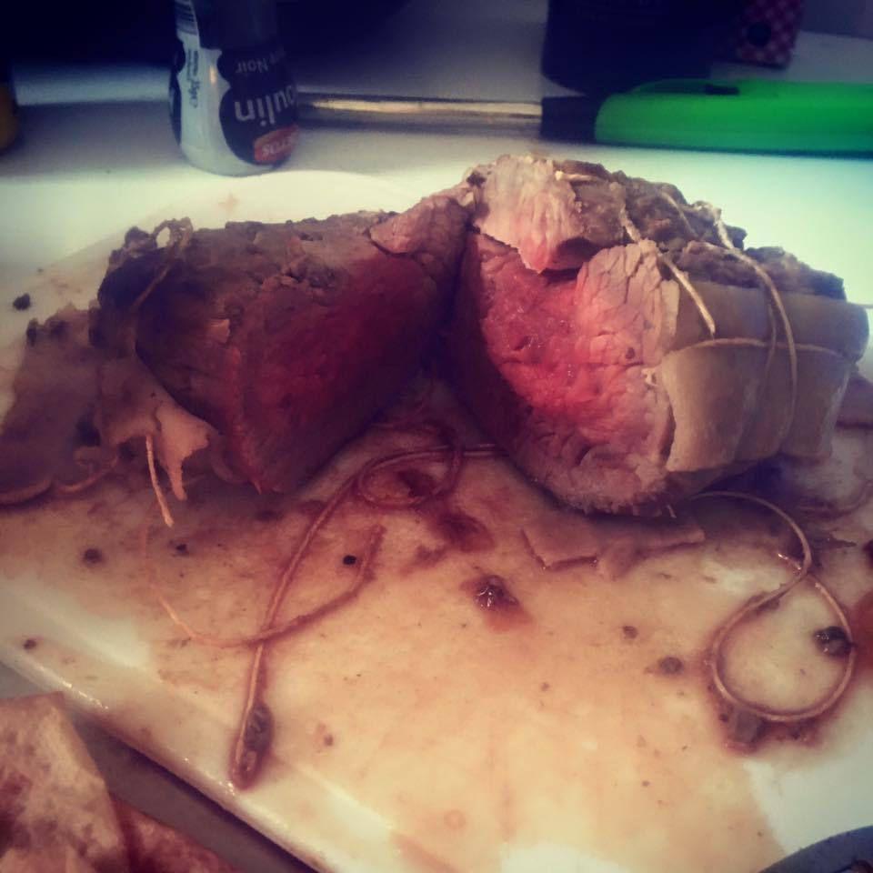 Roti de boeuf au oignons [COOKEO]