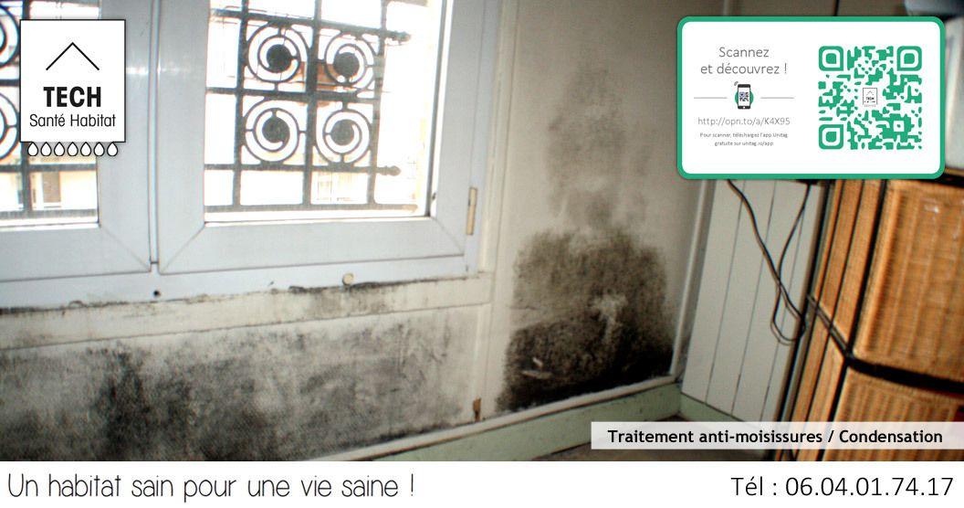 Comment traiter les moisissures et les problèmes de condensation ?