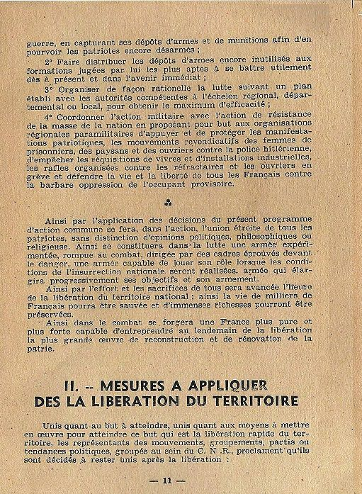 l'histoire du conseil national revolution (CNR)