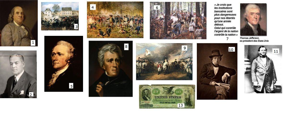 histoire des Dessous de la Révolutionaméricaine