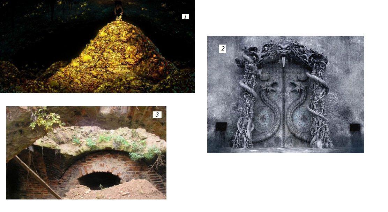 le faramineux trésor dans les souterrains secrets du temple, et la mystérieuse chambre B… !