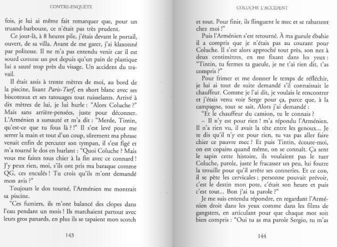 La mort de Coluche et le livre interdit 2  partie