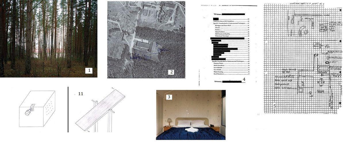 Les centres de détention secrets de la CIA
