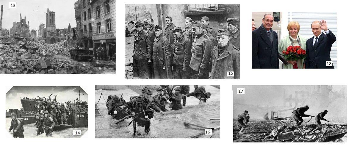 Massacre des populations civiles voulues en France et ailleurs en 1944 par les Alliés Americains