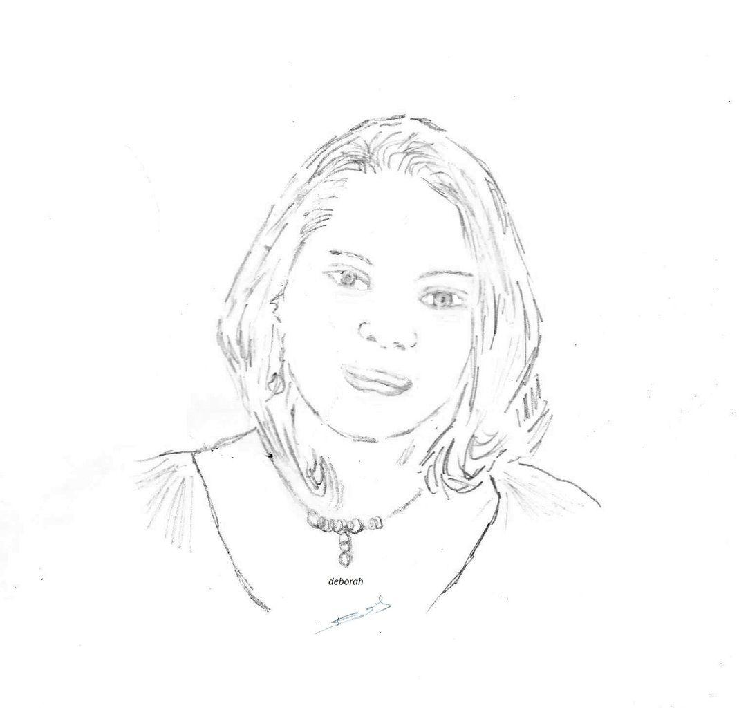 dessin   &quot&#x3B; ma fille &quot&#x3B;
