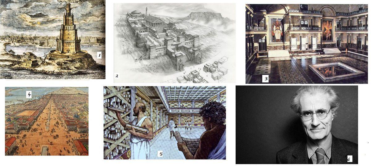 La Bibliothèque d'Alexandrie aurait elle été détruite par les restrictions budgétaires et non par les flammes ?