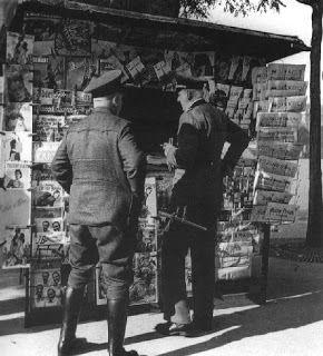 0 Les conditions de vie des parisiens sous l'occupation allemande