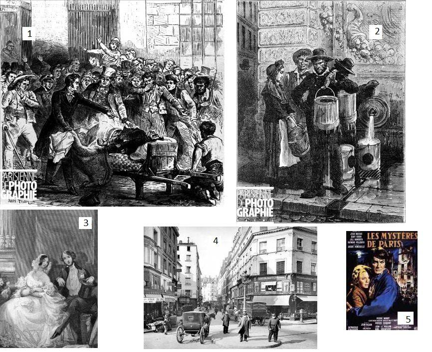1830 Les MYSTERES DE PARIS sous la MONARCHIE DE JUILLET (2)