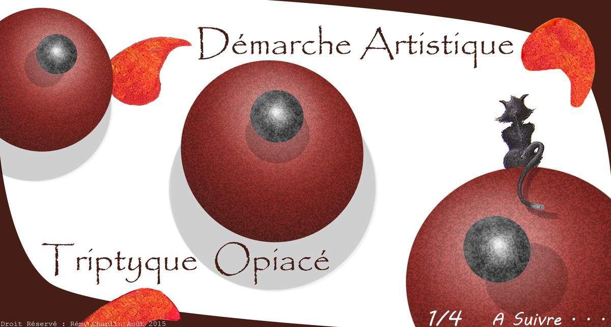 Triptyque Opiacé