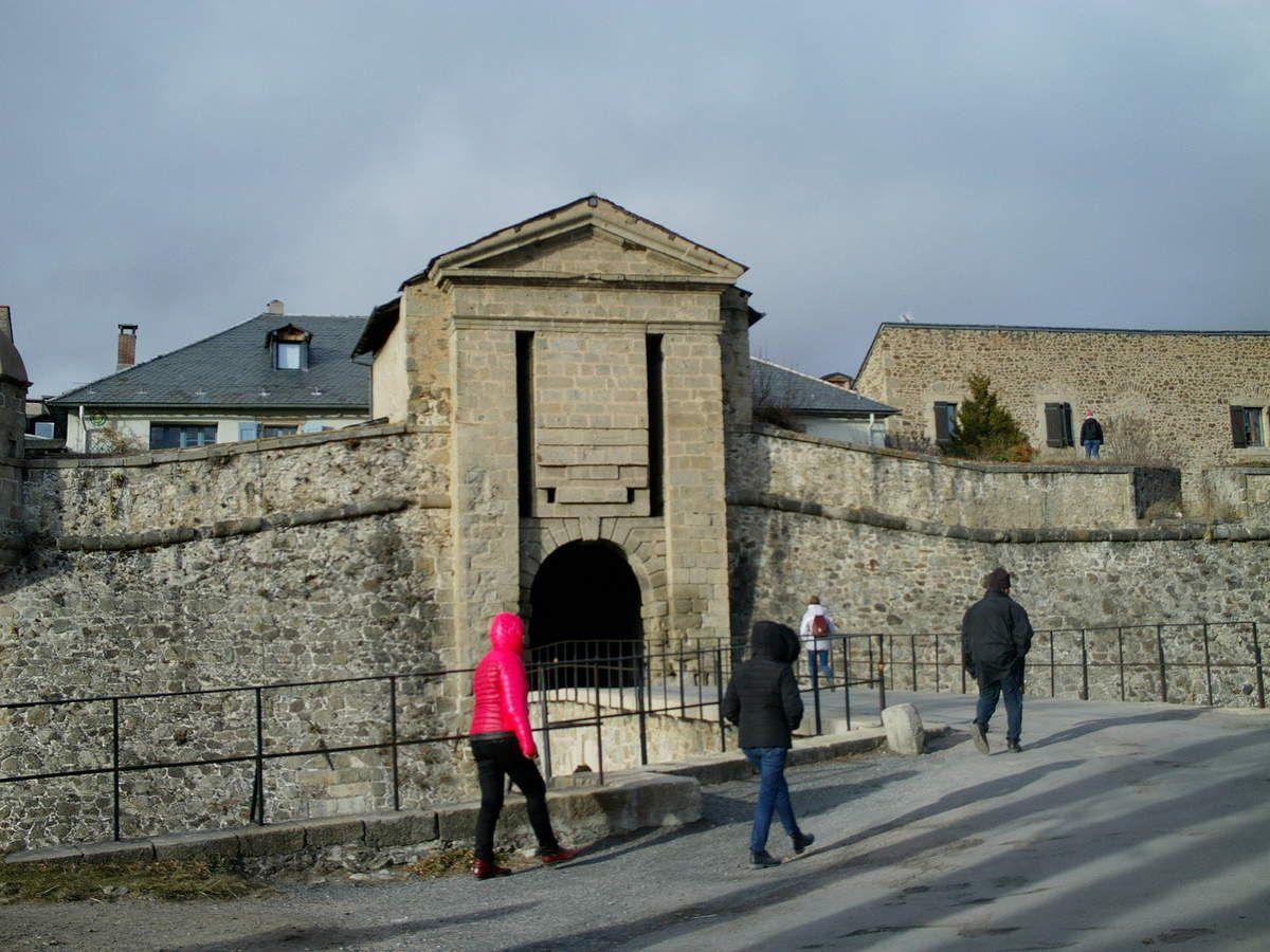 La citadelle de Mont-Louis