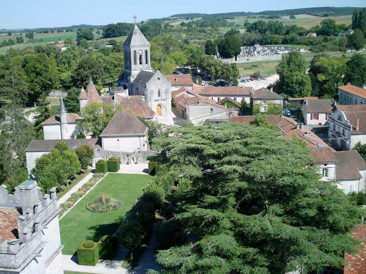 Bourdeilles en Périgord.