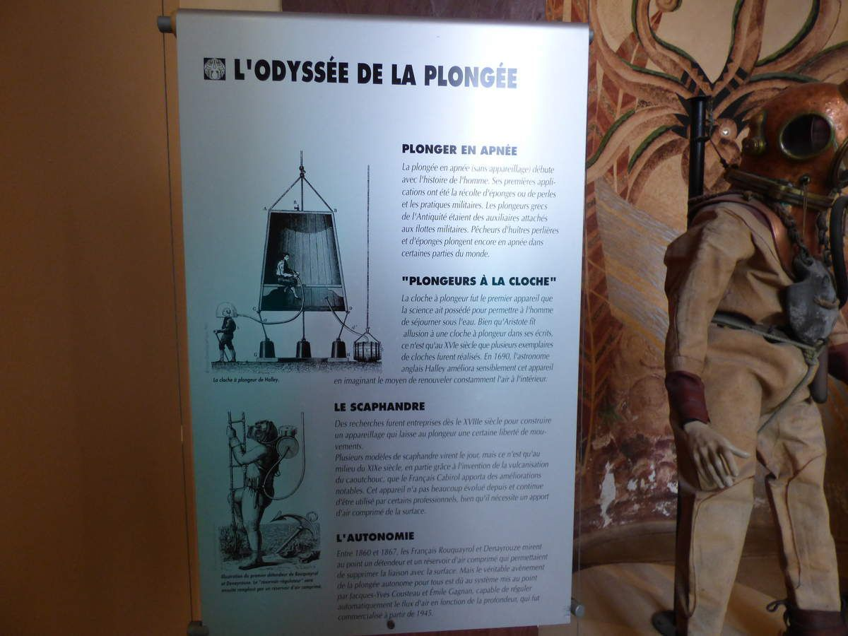 Le musée de la mer de Biarritz.