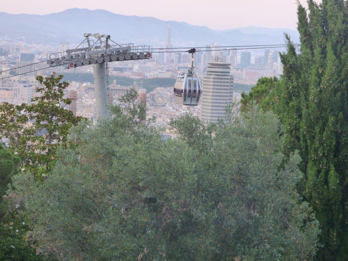 P'tit tour à Montjuïc.