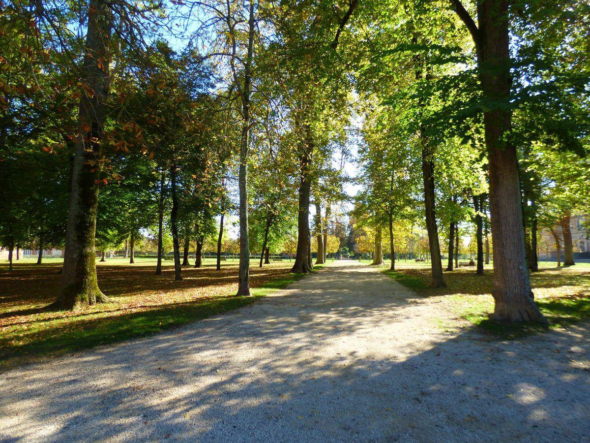 Le parc Foucaud de Gaillac.