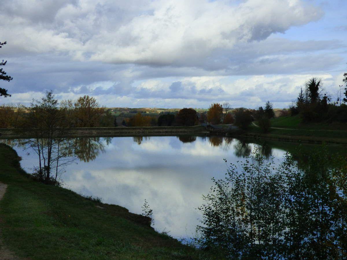 Le lac de Nabeillou.
