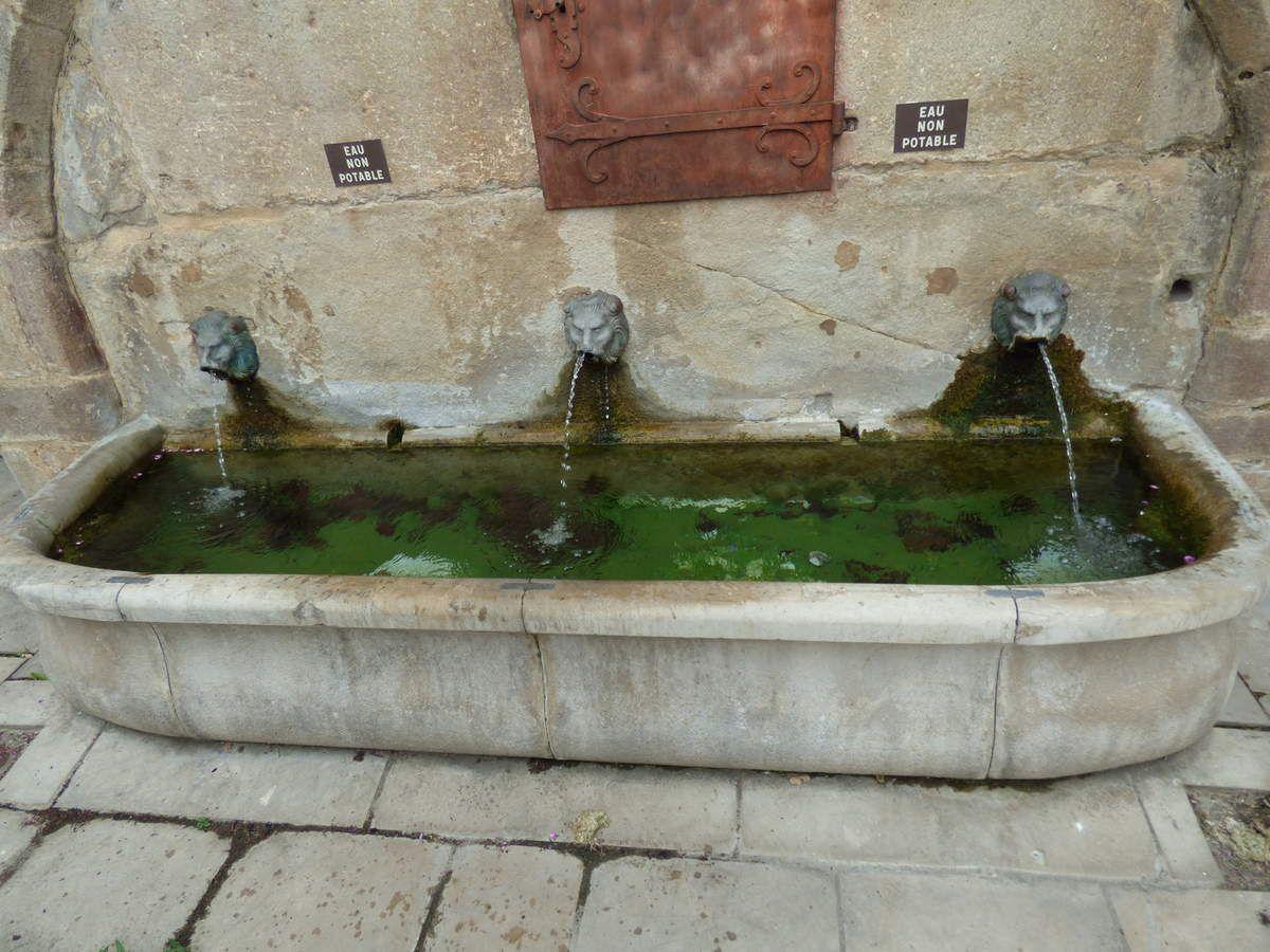 La fontaine de la Fréjaire de Réalmont.