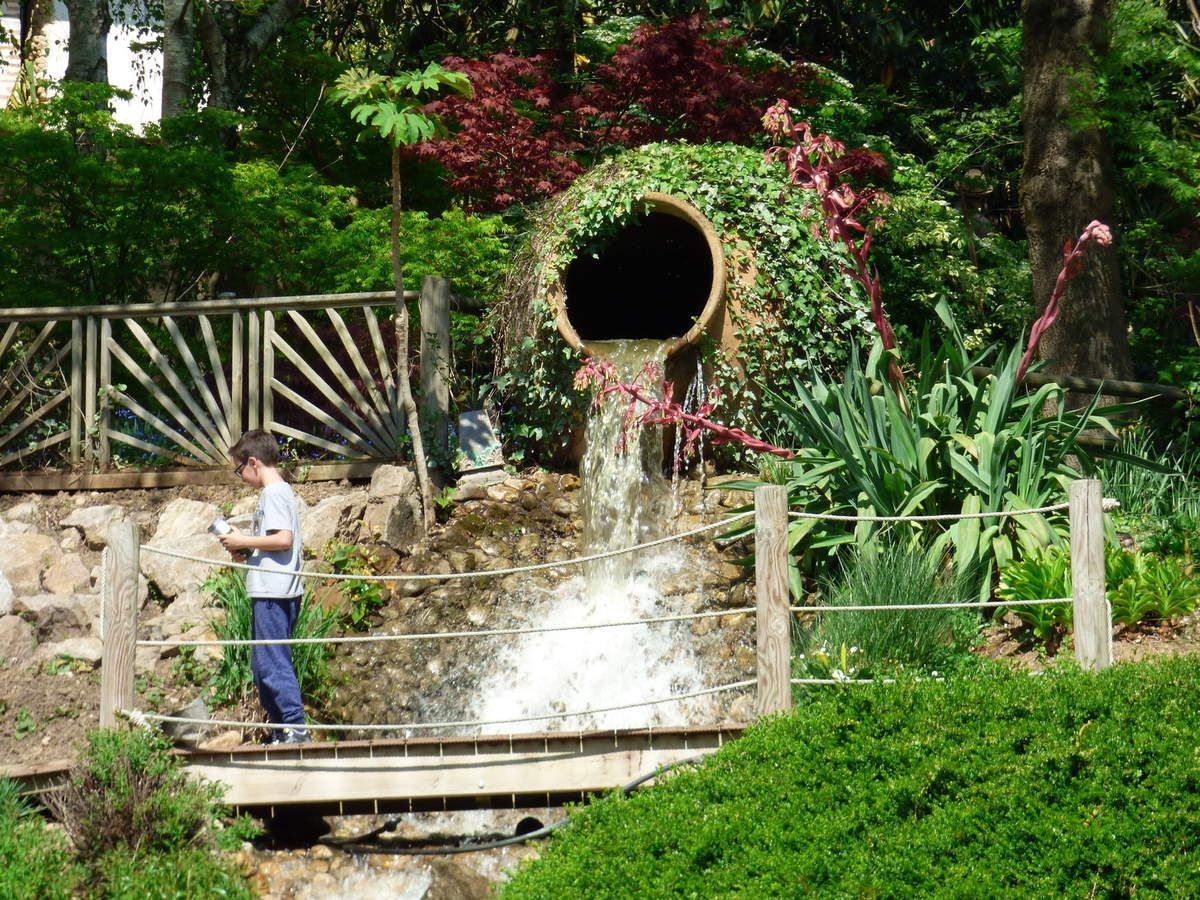 Un p'tit retour au Jardin des Martels dans le Tarn.