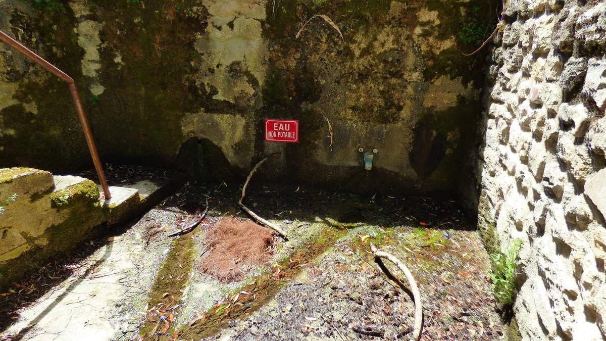 La source-lavoir de Caudabronde à Lautrec.