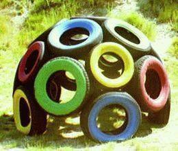 Idées de récupération de pneus