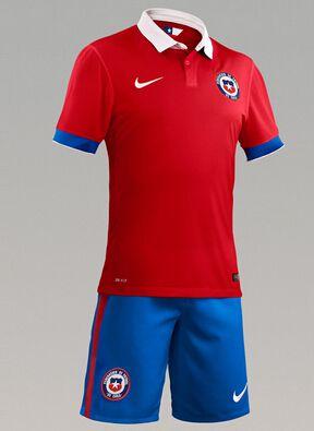 Ventas replicas camisetas de fútbol baratas Chile 2016 - camisetas ... 6f667397094e5