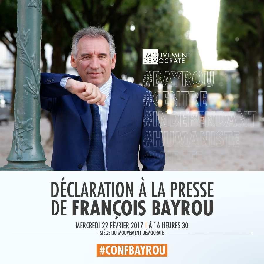 Proposition du JOUR : BAYROU offre une ALLIANCE  à MACRON