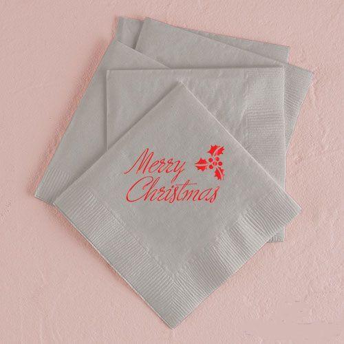 serviettes à personnaliser noel